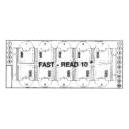 FAST-READ 10 - obsahuje 100 ks plastových doštičiek, každá pre 10 stanovení, súprava umožňuje 1000 stanovení