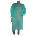 Zdravotnícky plášť/bavlnené manžety/